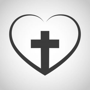 Bethel Community Church Heart Cross