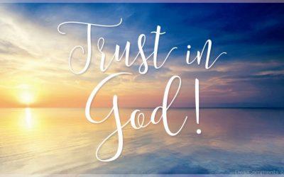Trusting In God John 11:1-45